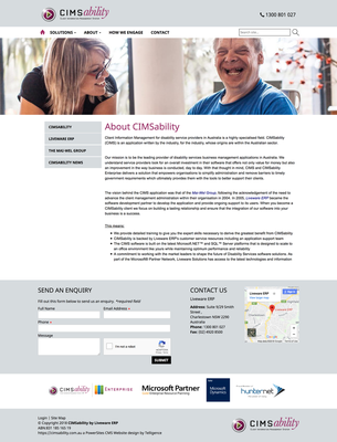 CIMSability Website Redesign